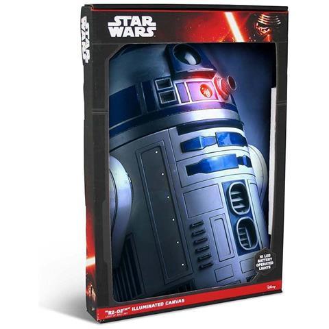 DIVERS Quadro Luminoso Star Wars - R2-D2