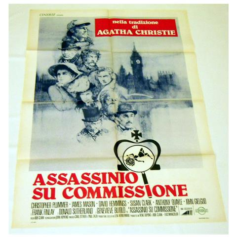 Vendilosubito Manifesto Originale Del Film Assassino Su Commissione
