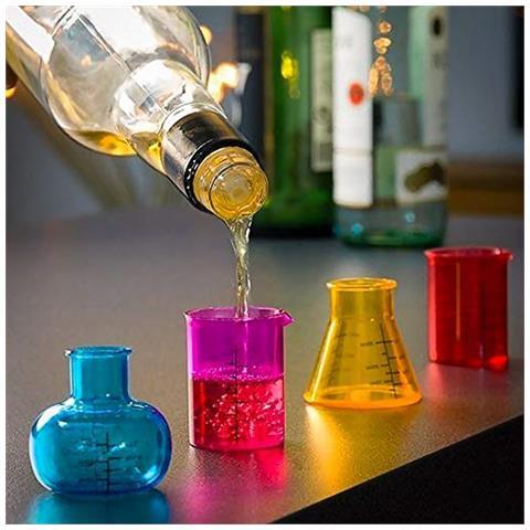 Bicchierini Da Liquore Chemistry (pacco Da 4) V0300289