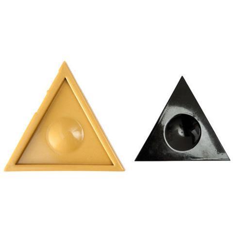 090602 - Sugarflex Gold 090602 Decorazioni Triangolo Equilatero Mm 150