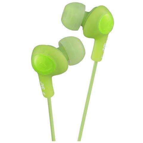 JVC Cuffie Auricolari Gumy Plus colore Verde