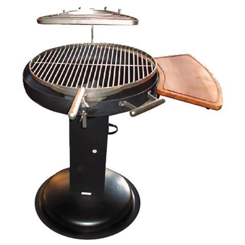 Barbecue Apollo 2 in Acciaio a Carbone o Legna