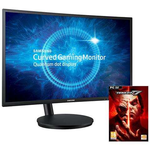 Monitor 27'' LED Curvo C27FG70FQU 1920 x 1080 Full HD Tempo di Risposta 1 ms + Tekken 7 pe...