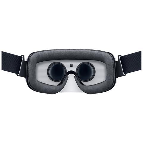 SAMSUNG Gear VR, Basato su smartphone, Nero, Bianco, Micro-USB, Pulsanti, Digitale