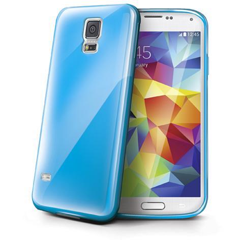 CELLY Cover per Galaxy S5 Azzurro