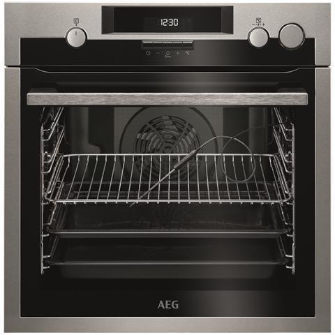 AEG Forno Elettrico da Incasso BSE571221M Capacità 72 L Multifunzione Ventilato Cottura Vapore Colore Inox