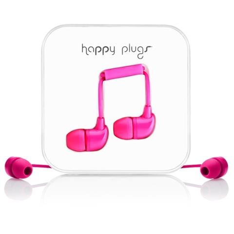 """Happy Plugs In-Ear, Stereofonico, Interno orecchio, Cablato, 3.5 mm (1/8"""") , Samsung plug, Oro"""