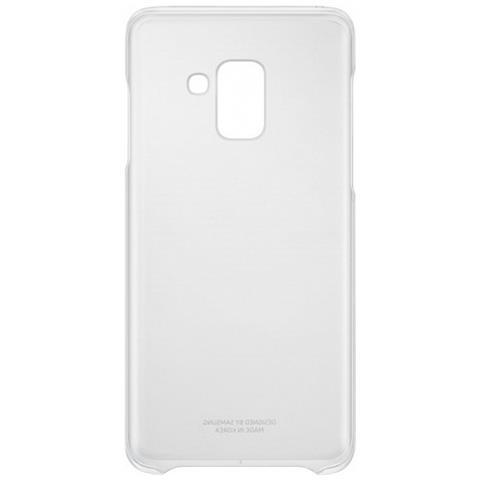 SAMSUNG Cover per Galaxy A8 Colore Trasparente