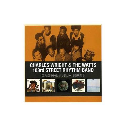 WARNER BROS Cd Wright Charles - Original Album (5cd)