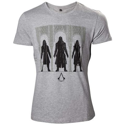 BIOWORLD Assassin's Creed - Group Of Assassin Black (T-Shirt Unisex Tg. S)