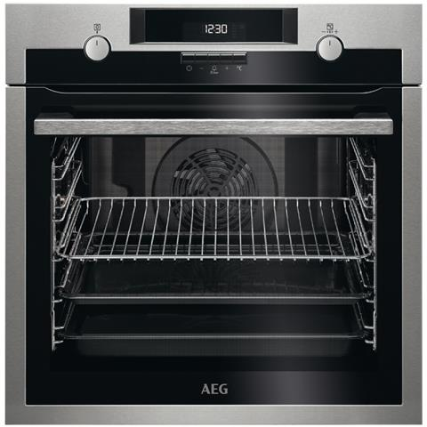AEG Forno Elettrico da Incasso BPE531221M Capacità 72 L Multifunzione Ventilato Colore Inox