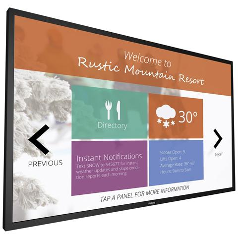 Image of Display LFD 65'' Multi-Touch 65BDL3051T 1920 x 1080 Full HD