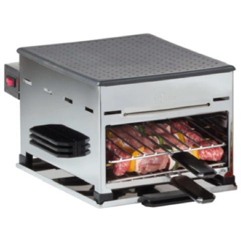 7630 Grill Semi Professionale Multifunzione Potenza 1950 Watt
