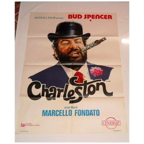 Vendilosubito Manifesto Originale Del Film Charleston Bud Spancer 1977