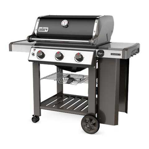Barbecue a Gas Genesis II E-310 GBS con Ripiani Laterali e Coperchio