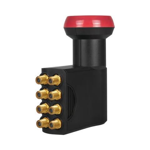 Megasat Octo LNB Diavolo 10.7 - 12.75GHz Nero, Rosso convertitori abbassatore di frequenza Low Noise Block (LNB)