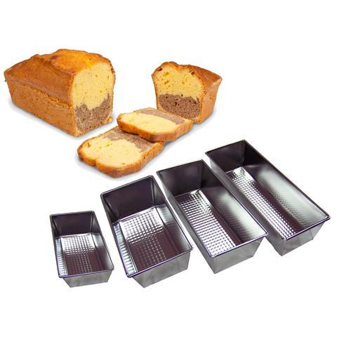 Stampo teglia tortiera e semifreddi set da 4 pezzi