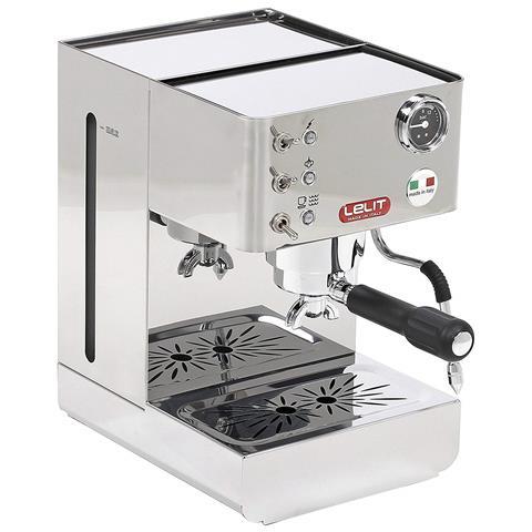 Macchina da Caffè Espresso Manuale Potenza 1000 Watt Pressione 15 Bar Capacità 2,7 Litri