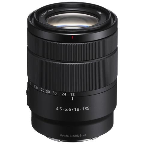 E 18-135mm F3.5-5.6 OSS SLR Obiettivi con zoom standard Nero