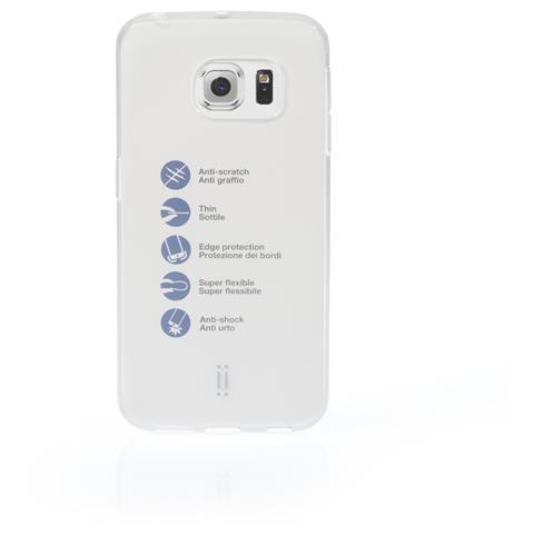 AIINO Custodia Gumshell per Samsung Galaxy S6 Edge - Clear