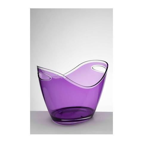 Portaghiaccio Culla Acrilico 27x35 H 26 Cm Colore Viola