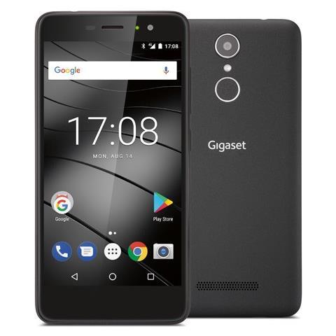"Gigaset GS170 Nero 16 GB 4G / LTE Dual Sim Display 5"" HD Slot Micro SD Fotocamera 13 Mpx Android Italia"