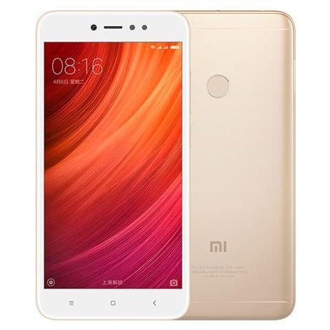 "XIAOMI Redmi Note 5A Oro 16 GB 4G / LTE Dual Sim Display 5.5"" HD Slot Micro SD Fotocamera 13 Mpx Android Italia"