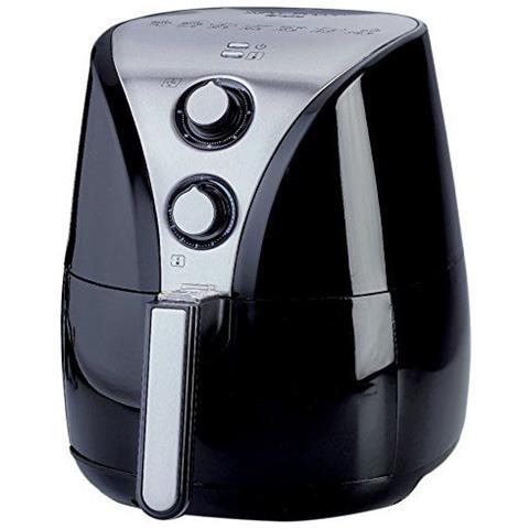 Friggitrice ad Aria Calda 4614 Airy Fryer Capacità 2.4 Litri 1500 Watt Colore Nero
