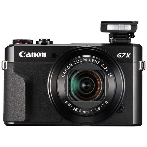 Fotocamera Digitale Compatta PowerShot G7 X Mark II 20,1 Mpx Sensore CMOS Zoom Ottico 4,2x...