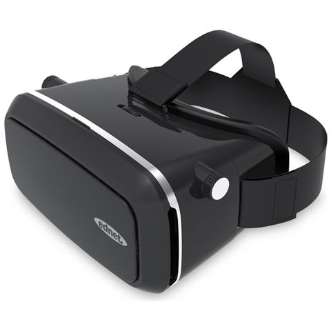 EDNET Virtual Reality Brille Pro Visore collegato allo smartphone 380g Nero