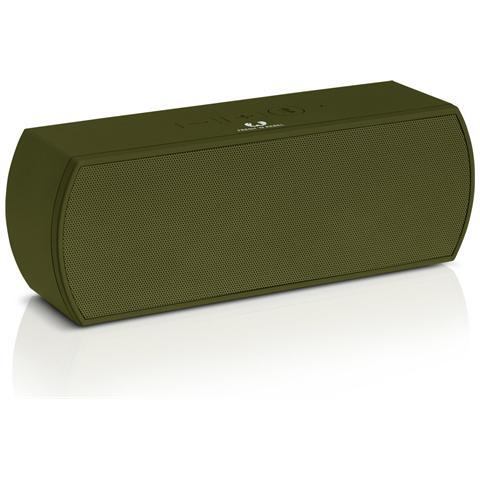 FRESH N REBEL Rockbox Curve Bluetooth Speaker Verde Militare