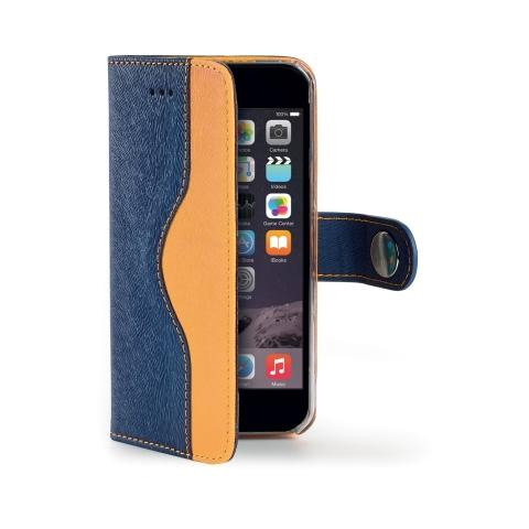 CELLY Wallet Onda Custodia per iPhone 6 Plus