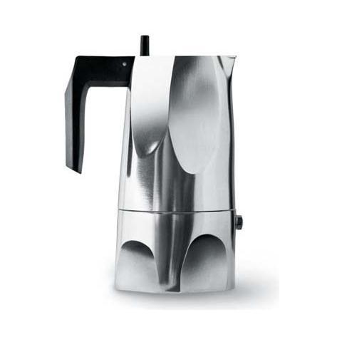 Image of Caffettiera espresso ossidiana 6 tazze alluminio