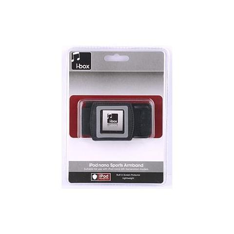 IBOX 76974HS / 02 Fascia da braccio Nero custodia MP3 / MP4