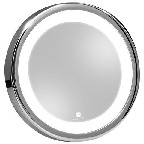 MACOM 211 Solar Sensation Specchio Trucco Ingrandente con Luce Led e Ventose
