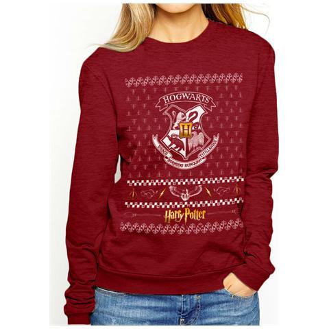CID Harry Potter - Xmas Crest (Felpa Unisex Tg. 2Xl)