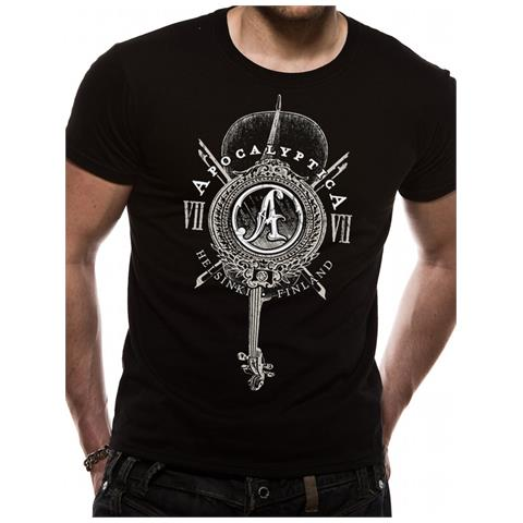 CID Apocalyptica - Cello (T-Shirt Unisex Tg. Xl)