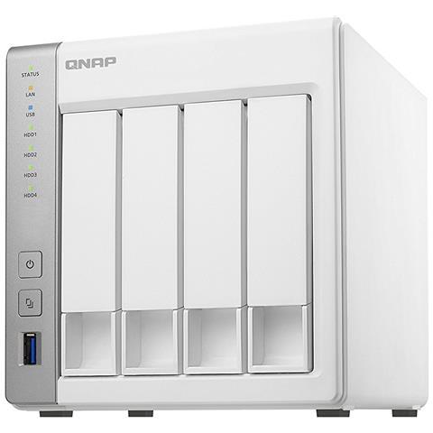 NAS TS-431P2 con 4 Slot 2.5'' / 3.5'' Interfacce 2 x Gigabit Ethernet / 3 x USB 3.0 Ram 1...