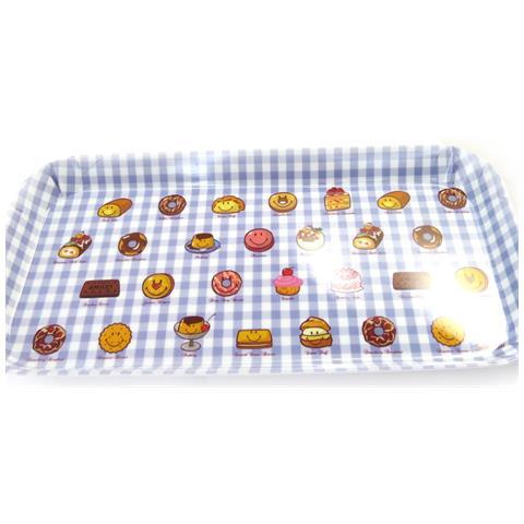 tea cake '' quadretti blu - [ l9081]