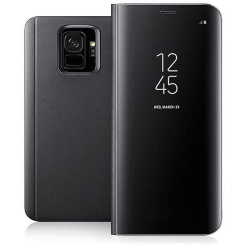 FONEX Book Sky Smart Cover per Samsung Galaxy S9 Colore Nero