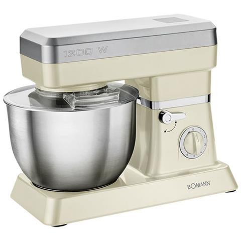 Boamann Mixer 1200 W Crema E Argento Km 398 Cb