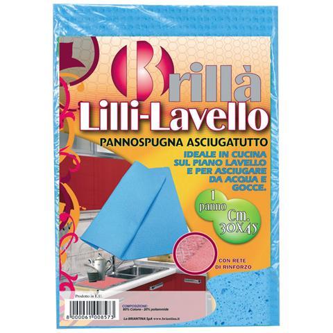 LA BRIANTINA Pannospugna Lavello Lilli Cm. 30x45