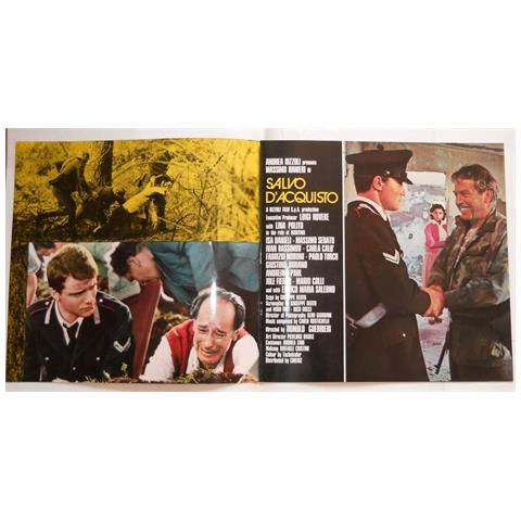 Vendilosubito Brochure 4 Pagine Originale Del Film Salvo D' acquisto Con Massimo Ranieri 1974