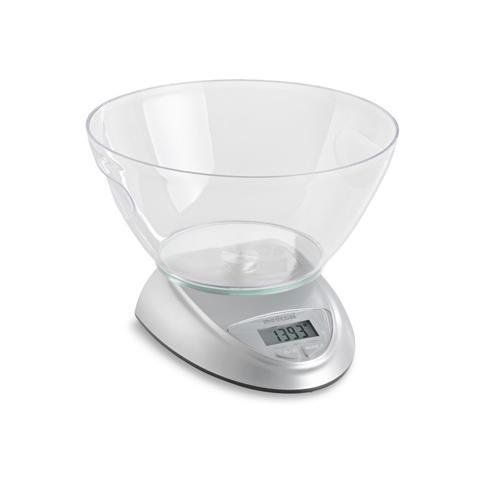 Bilancia Elettronica da Cucina Portata 5 kg Colore Bianco
