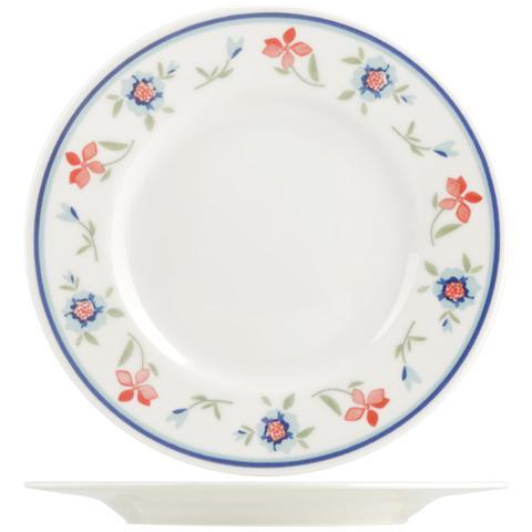 Pasabahce Piatto Porcellana Etrusca Rn5 Frutta Cm21 Stoviglie