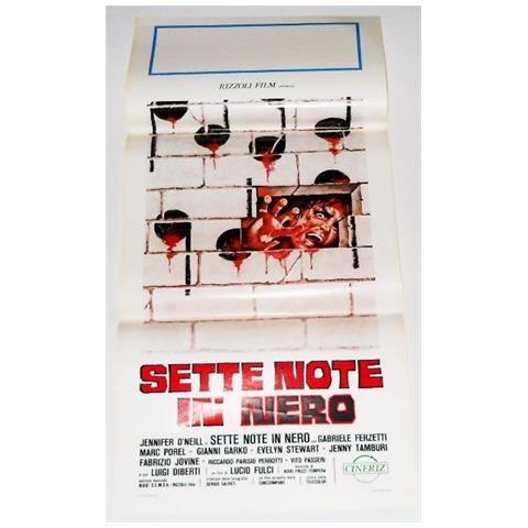 Vendilosubito Locandina Originale Del Film Sette Note In Nero 1977