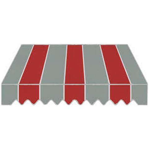 Tenda Da Sole A Caduta Con Tessuto In Poliestere Di Colore Rosso