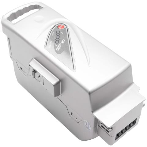 Batteria Per Panasonic Flyer T4, T5, T6, T8, T8 Hs, T9 E-bike, Bici Elettrica (23200mah, 26v, Li-ion, Argentata)