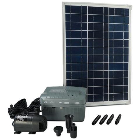 1351182 Solarmax 1000 Set Pannello Solare E Pompa Con Batteria