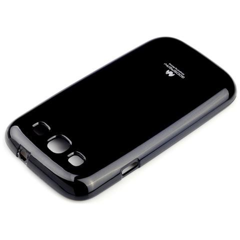 Mercury Cover jellycase In Silicone Duro Hq Per Iphone 6 Nero